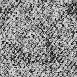 Teppichboden, Auslegware, Meterware, 400 cm x 250 cm, grau, Schlinge