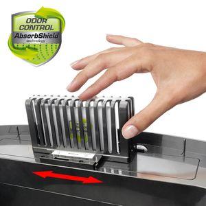Sensor Edelstahl Mülleimer Abfalleimer Automatik Abfall Müll Behälter Batt Netz