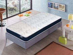 Matratze 80x160 ERGO KONFORT JUNIOR -H2- Höhe 14 cm  Super weiche Polsterung - jugendlich - ideal für Nest-Betten DORMALIT