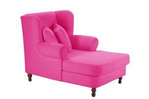 Max Winzer Mareille Big-Sessel inkl. 2x Zierkissen 55x55cm + 40x40cm - Farbe: coralle - Maße: 103 cm x 149 cm x 103 cm; 2902-754-2044191-F07