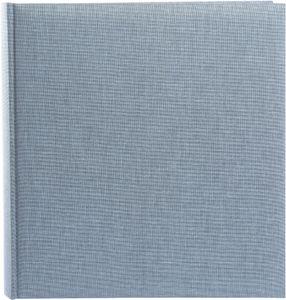 Goldbuch Summertime Trend2 30x31 100 weiße Seiten blau-grau 31607