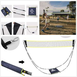 Tragbar Aufpoppen Falten Beweglich Tennisnetz Badmintonnetz Volleyball Netz Netzgestell