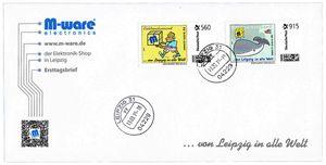 FDC mit 560+915-Cent Briefmarken, 2015, ungelaufen, M-ware®. ID15673