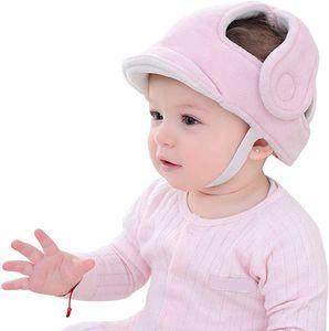 Baby Schutzhelm, 360° Anti-Kollision Kopfschutzkappe Kopfschutz-Kissen mit Verstellbaren Riemen Atmungsaktiv Babyhelm Sicherheits