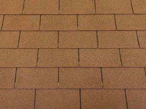 Isolbau Dachschindeln 27 m2 Rechteck Form Braun (9 Pakete) Schindeln Dachpappe Bitumen