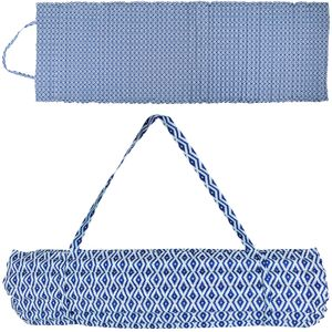 Strandmatte Blau gepolstert 60x180cm Faltmatratze Liegematte Camping faltbar Strand Matte Campingmatte