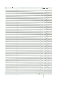 Aluminium-Jalousie, Farbe:weiß, Breite:140 cm, Länge:175 cm
