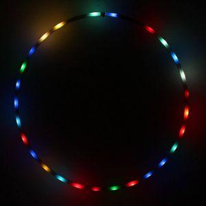 Hoopomania LED Hula Hoop mit 25 Leuchten, Durchmesser 90cm