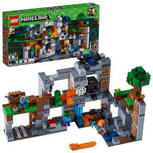 LEGO® Minecraft™ Abenteuer in den Felsen 21147