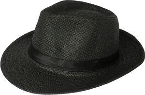 Panama Hut Bogart Strohhut Schwarz 60
