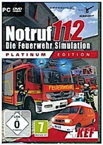 Die Feuerwehr Simulation Notruf 112 - Platinum Edition
