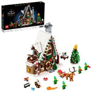 LEGO 10275 Elfen-Klubhaus, Weihnachts-Bauset, Weihnachtsgeschenk Für Erwachsene, Modell Zum Ausstellen