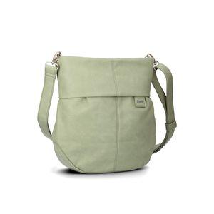 ZWEI Umhänge Tasche MADEMOISELLE M100 in vielen Farben, Farbe:salbei