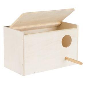 Trixie - Wildvogel-Nestbox CM486 (21 cm x 13 cm x 12 cm) (Beige)