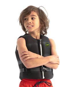 Jobe Neopren Schwimmweste Kinder Schwarz GR: 176