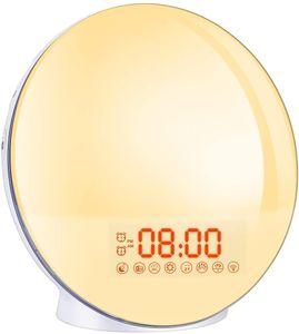 Wake Up Licht Lichtwecker - Cadrim Radiowecker Sonnenaufgang Sonnenuntergang