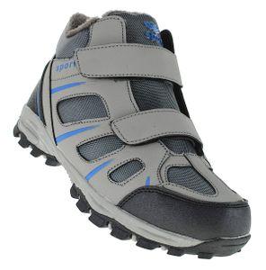 Klett Winterstiefel Outdoor Boots Stiefel Winterschuhe Herrenstiefel Herren 054, Schuhgröße:44, Farbe:Grau
