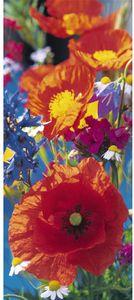 Tapeten - Fototapeten Red Poppies - 86 cm x 200 cm