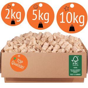 5 KG (ca. 400 Stück) Anzünder aus Holzwolle und Wachs