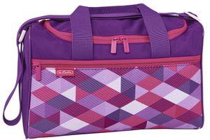 """Herlitz Sporttasche """"Pink Cubes"""" aus Polyester"""