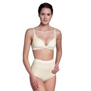 Miss Perfect Shapewear Damen - Bauchweg Unterhose Damen (XS-XXL) Figurformende Unterwäsche - Seamless Miederhose Bauch weg - figurformend, Größe:46 (2XL), Farbe:Champagner (CH)