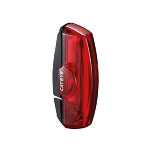 Cateye Fahrradlicht Hinten Rapid X3 Rot (One Size, Rot)