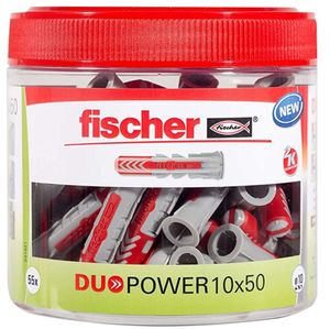 FISCHER 541921 Universaldübel DUOPOWER 10 x 50mm Dose, 55 Stk