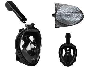 Schnorchelmaske Tauchmaske Vollgesichtsmaske Vollmaske 180° Sichtfeld Anti Fog 10934, Größe:S/M
