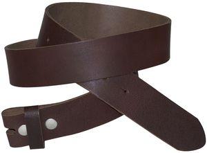 FRONHOFER Wechselgürtel 3,5 cm, Gürtel ohne Schnalle, Gürtel mit Druckknopf 18352, Körperumfang 95 cm