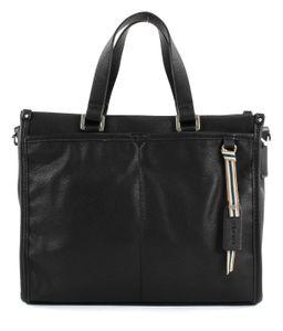 Esprit Damen Handtasche Tasche Henkeltasche Kayla City Bag Schwarz