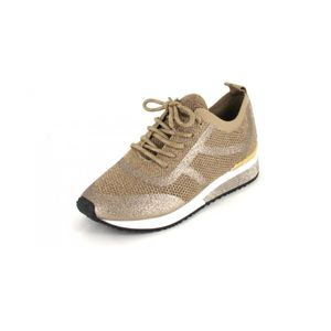 La Strada Schnürer Gold/Silver Glitter/Knitt Größe 42, Farbe: Gold/Silver Glitter/Knitt