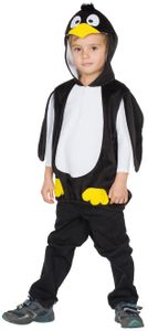 Kinder Kostüm Pinguin Karneval Fasching Verkleiden Gr. 92