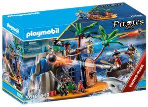 PLAYMOBIL 70556 Pirateninsel mit Schatzversteck