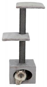 TRIXIE 43827, Cat scratching tower, Freistehend, Grau, Plüsch, Sisal, 370 mm