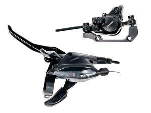 Shimano Bremse BR-MT200 hydraulische Scheiben Disc Brake 1000mm Schalt-/Bremshebel ST-EF505