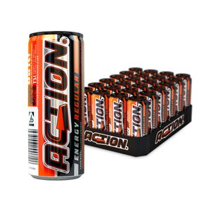 Action Energy Drink Einweg 24 x 250 ml Dosen