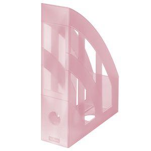 Herlitz Stehsammler / Plastik Stehordner / Farbe: transluzent pastell rose