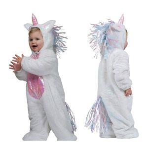 Kostümplanet Kinderkostüm Einhorn Overall Gr. 104