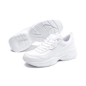 Puma Cilia Mode Damen Sneaker in Weiß, Größe 6
