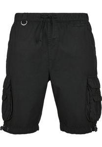 Urban Classics Shorts Double Pocket Cargo Shorts Black-4XL