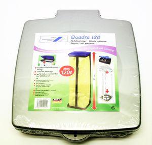 Schulz Müllsackständer / Müllständer / Abfallsammler - Quadra 120 bis max. 120 Liter