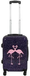 Koffer Trolley Gr. M mit Motiv PM Kissing Flamingos