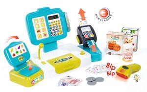 Smoby Elektronische Supermarktkasse XL türkis,350105