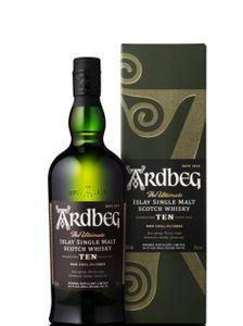 Ardbeg 10 Jahre The Ultimate Islay Single Malt Scotch Whisky | 46 % vol | 0,7 l