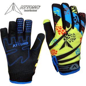 ATTONO Kinder Mountainbike Handschuhe Gel Fahrrad Warme Fahrradhandschuhe
