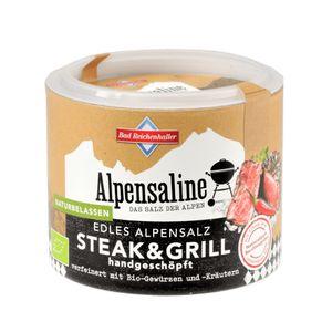 Alpensaline Edles Alpensalz Steak & Grill 90g Dose