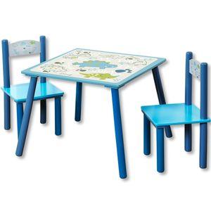 Kesper Kesper Kindertisch mit Stuehlen Dino 1772113