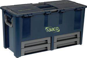 Raaco Werkzeugkoffer Compact 62 mit 10 Einsätzen 136624