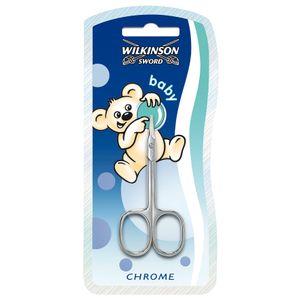 Wilkinson Sword Babyschere Baby Nagelschere Stahl Chrome Hautschere Solingen