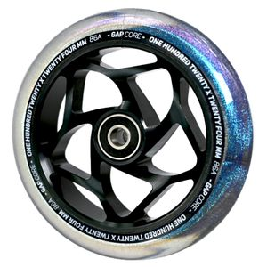 Blunt Gap Core Stunt-Scooter Wheel 120 mm schwarz/PU galaxy